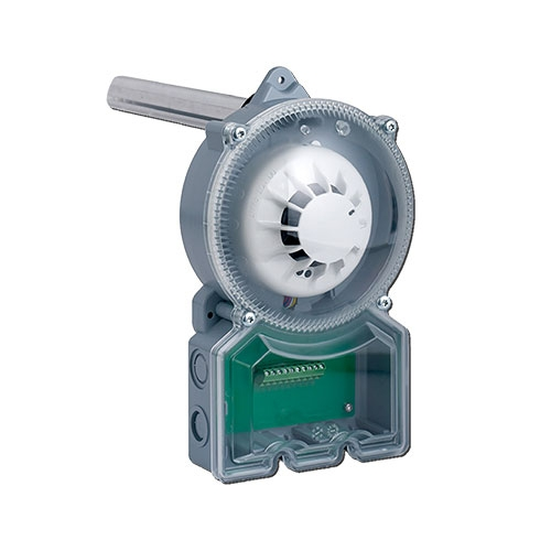 Detector de fum si temperatura FireClass DPK6-4B, sisteme de ventilatie