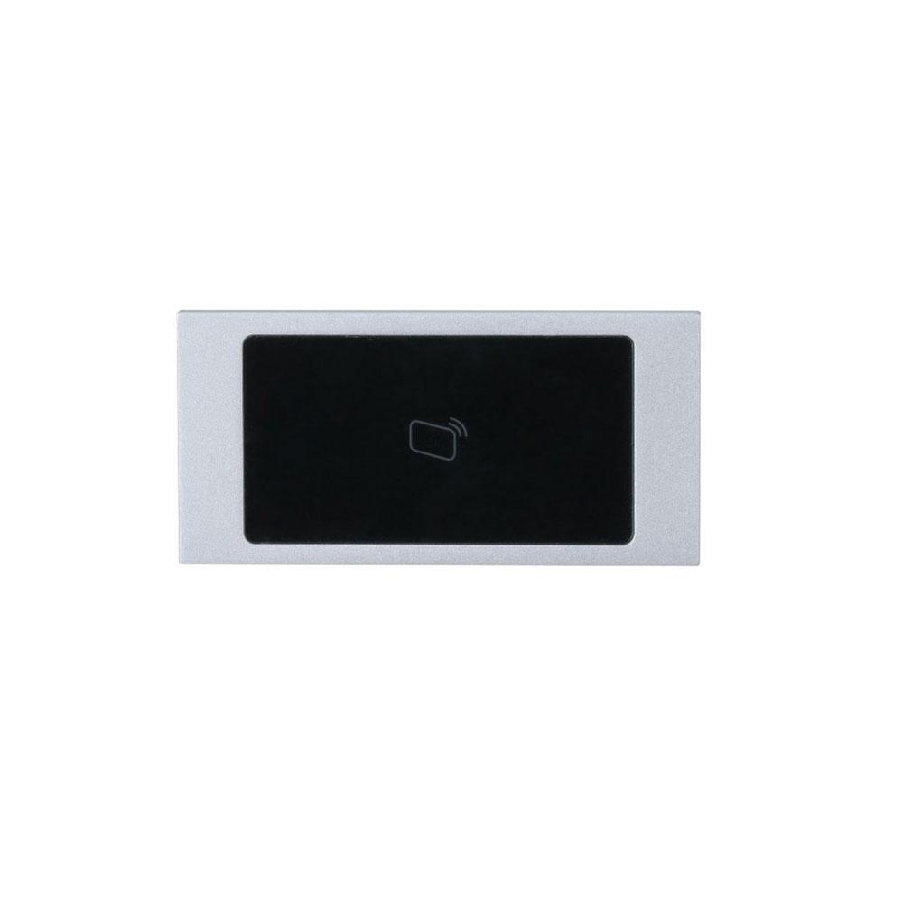 Modul videointerfon de exterior IP pentru control acces Dahua VTO4202F-MR, Mifare, 13.56 MHz, 5 V DC imagine spy-shop.ro 2021