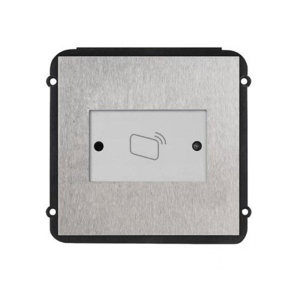 Modul videointerfon de exterior pentru control acces Dahua VTO2000A-R, Mifare, 13.56 MHz, DC 12V imagine spy-shop.ro 2021