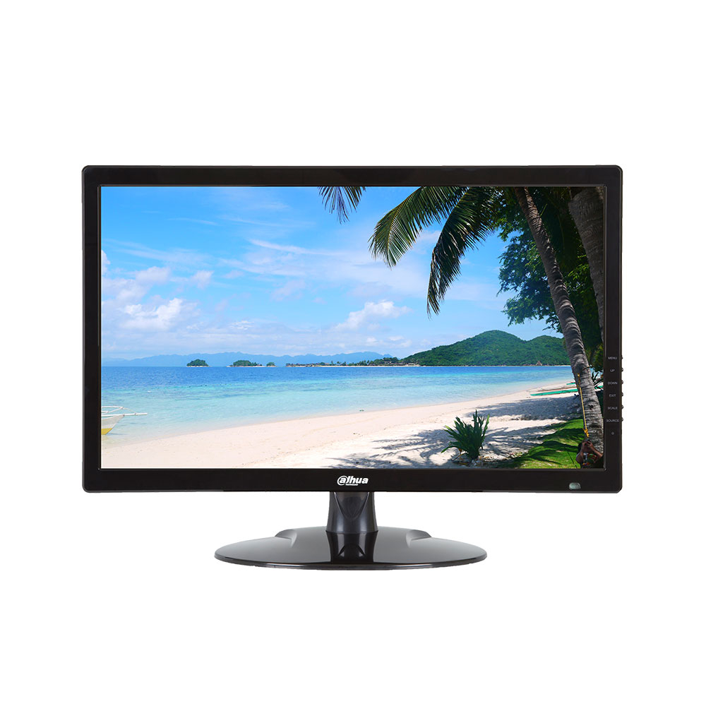 Monitor LED Dahua LM22-L200, 21.5 inch, Full HD, HDMI, VGA, Audio imagine spy-shop.ro 2021