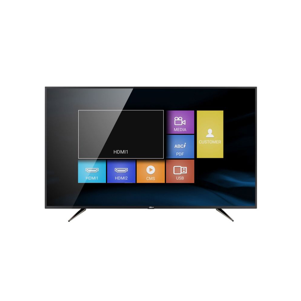 Monitor LED Dahua LM55-F410, 55 inch, 4K, HDMI, VGA, Audio, 8 ms imagine spy-shop.ro 2021
