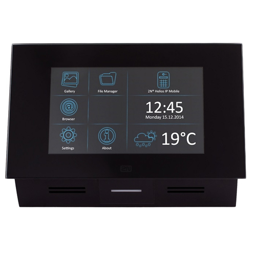Videointerfon de interior 2N Telecommunications INDOOR TOUCH (91378365), 7 inch, aparent imagine spy-shop.ro 2021