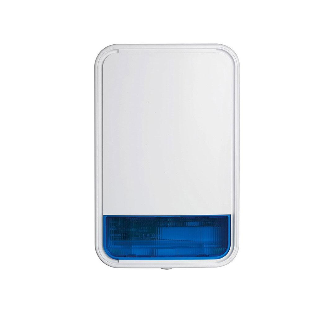 Sirena de exterior stroboscopica wireless DSC NEO PG8911BAT, 110 dB, PowerG, IP55 imagine spy-shop.ro 2021