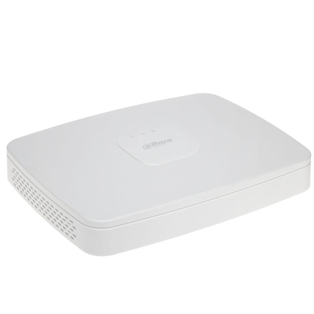 NVR Dahua NVR4108-8P-4KS2, 8 canale, 8 MP, 80 Mbps, 8 PoE, functii smart