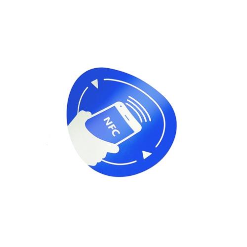 Eticheta NFC autoadeziva NFC-3016-BL, MIFARE, anti-coliziune, reinscriptibil imagine