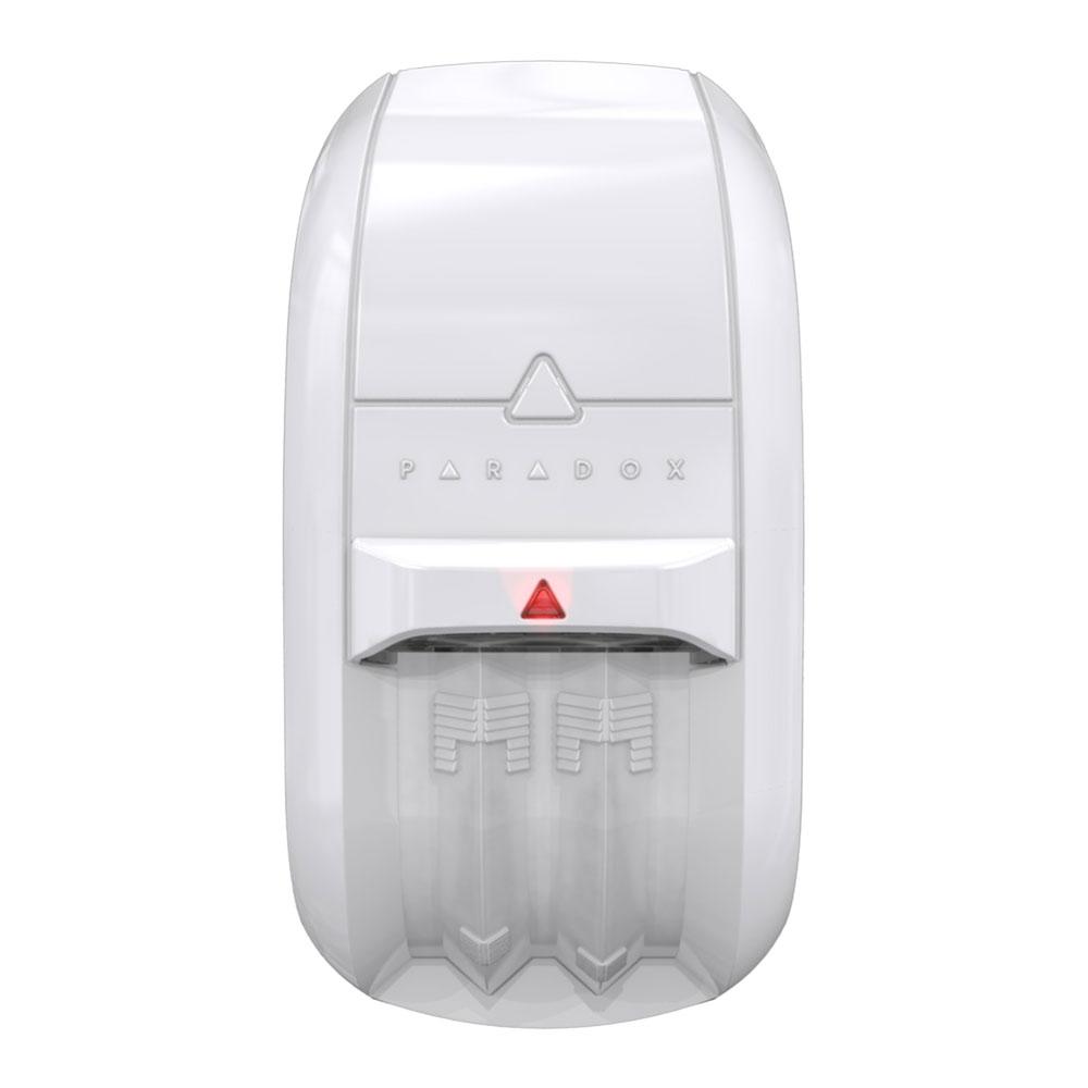 Detector de miscare dual wireless Paradox NV75MR, 16 m, pet immunity, antimasking