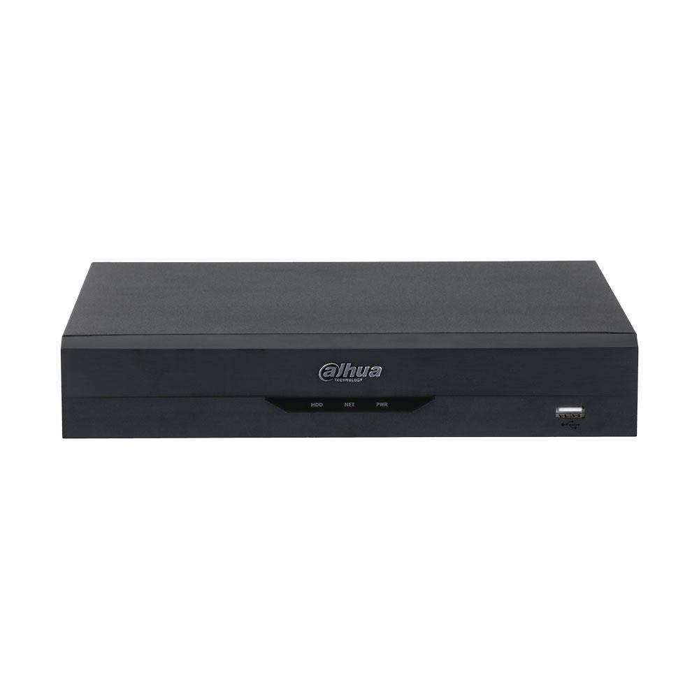 NVR Dahua WizSense NVR2104HS-I, 4 canale, 12 MP, 80 Mbps, functii smart