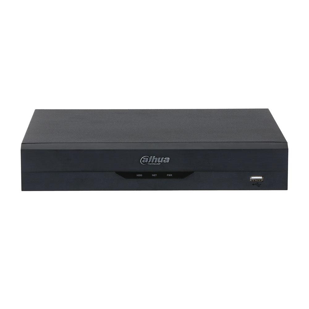 NVR Dahua WizSense NVR2108HS-I, 8 canale, 12 MP, 80 Mbps, functii smart imagine