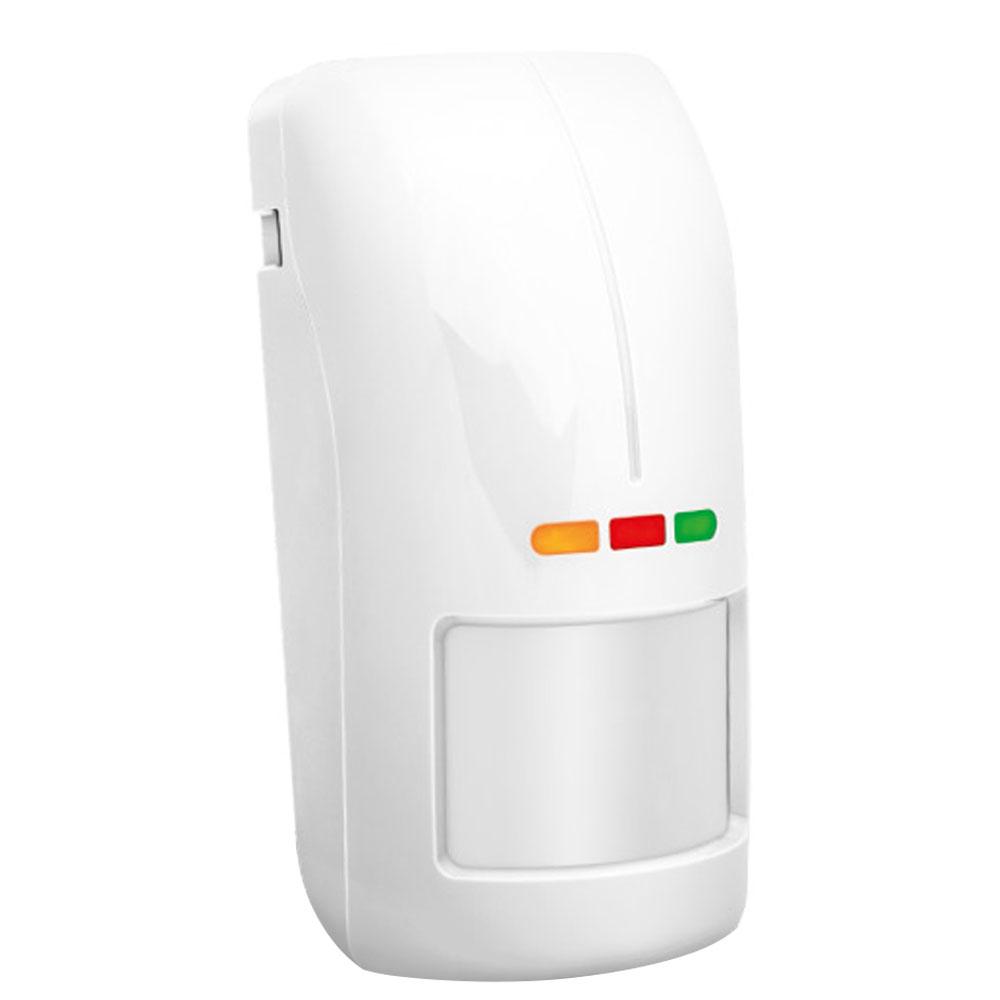 Detector de miscare exterior digital dual PIR si MW Satel OPAL Plus, 15 m, 100 grade, senzor dusk, antimasking, creep zone, pet immunity, suport inclus