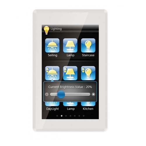 Panou control TFT cu touch screen incastrat CHTF-05/01.1, 5 inch, senzor de proximitate, interfata configurabila imagine spy-shop.ro 2021