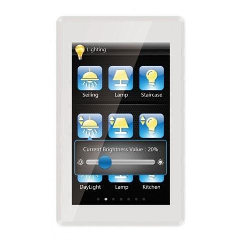 Panou control TFT cu touch screen incastrat CHTF-05/01.1, 5 inch, senzor de proximitate, interfata configurabila
