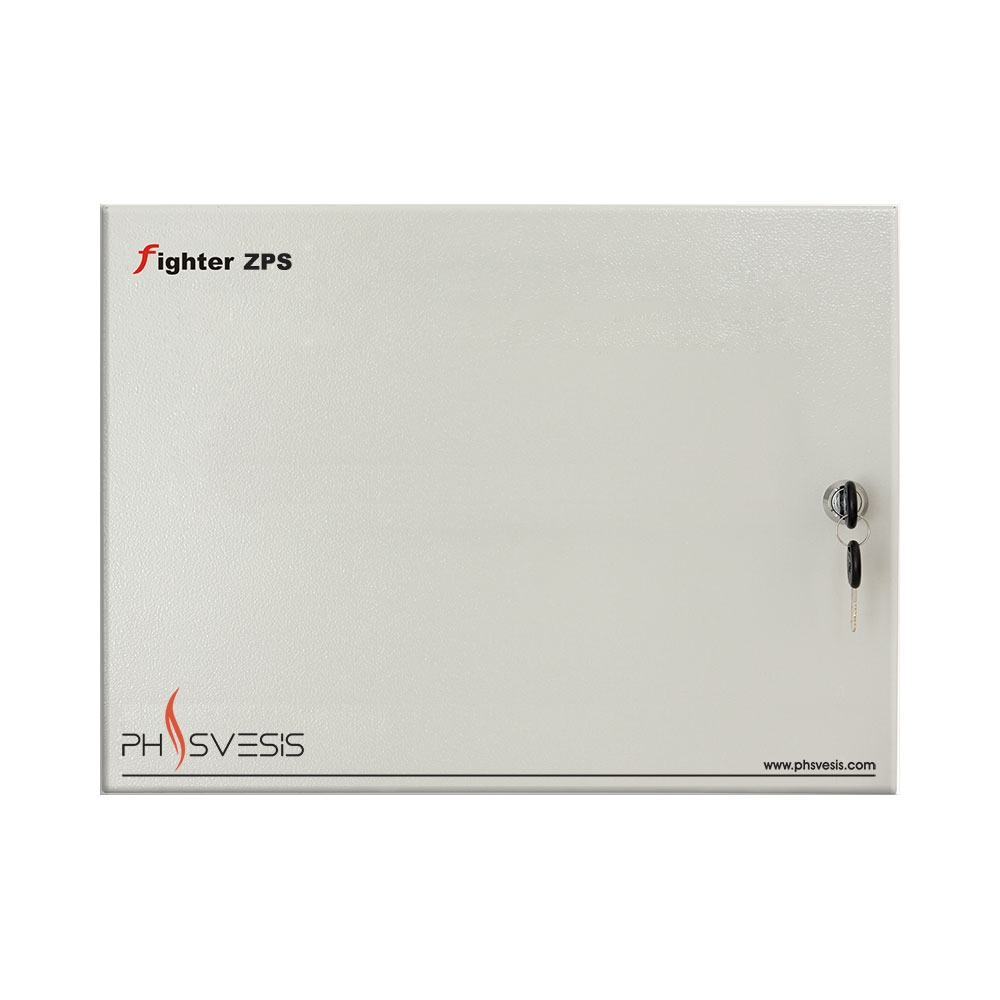 Panou de extensie 8 zone PH Svesis FIGHTER ZPS, sursa de alimentare, comutator DIP switch, BUS 4 fire RS-485 imagine spy-shop.ro 2021