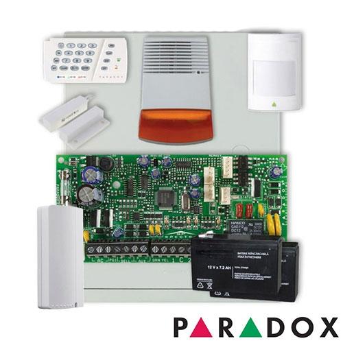 SISTEM ALARMA ANTIEFRACTIE PARADOX SP4000 EXT + COMUNICATOR GPRS