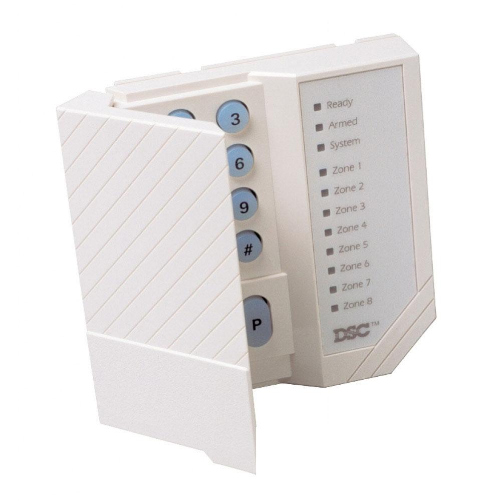 Tastatura LED DSC PC 1555 RK, 1 zona programabila, 8 zone imagine