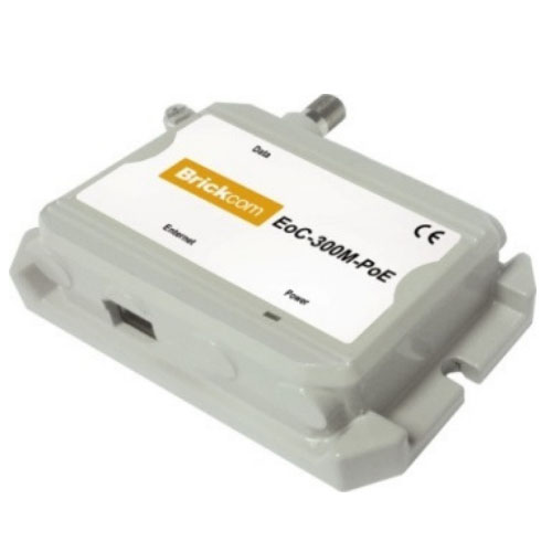 ETHERNET OVER COAXIAL BRICKCOM EOC-300 M SI S- POE