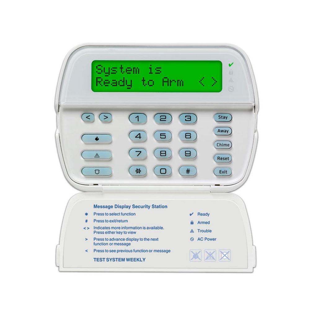 Tastatura LCD DSC PK5500, 64 zone, 8 partitii, 5 taste programabile imagine spy-shop.ro 2021