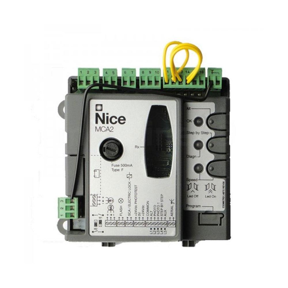 Placa de control pentru unitate de comanda Nice MCA2, 24 V imagine spy-shop.ro 2021