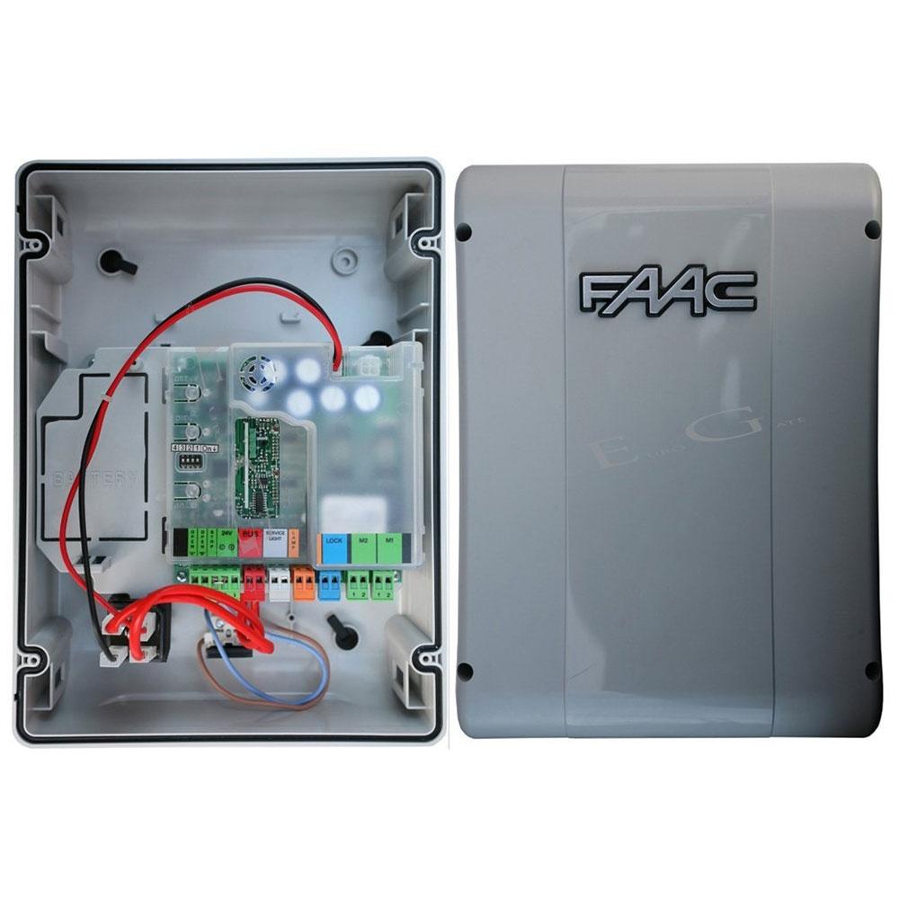 Placa electronica de comanda si cutie montaj FAAC E024 S, 230 V, 300 W