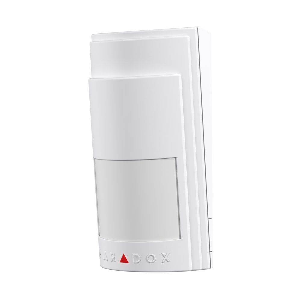 Senzor de miscare PIR wireless Paradox PMD2P, mono-optic, senzor dual, pet immunity