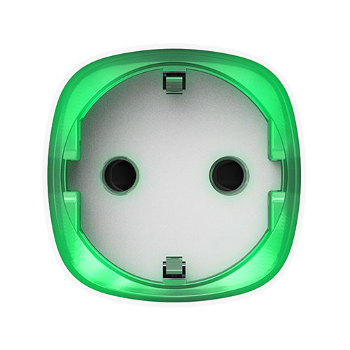 Priza smart wireless Ajax Socket WH, 2.5 kW, indicator consum LED, 1000 m imagine spy-shop.ro 2021