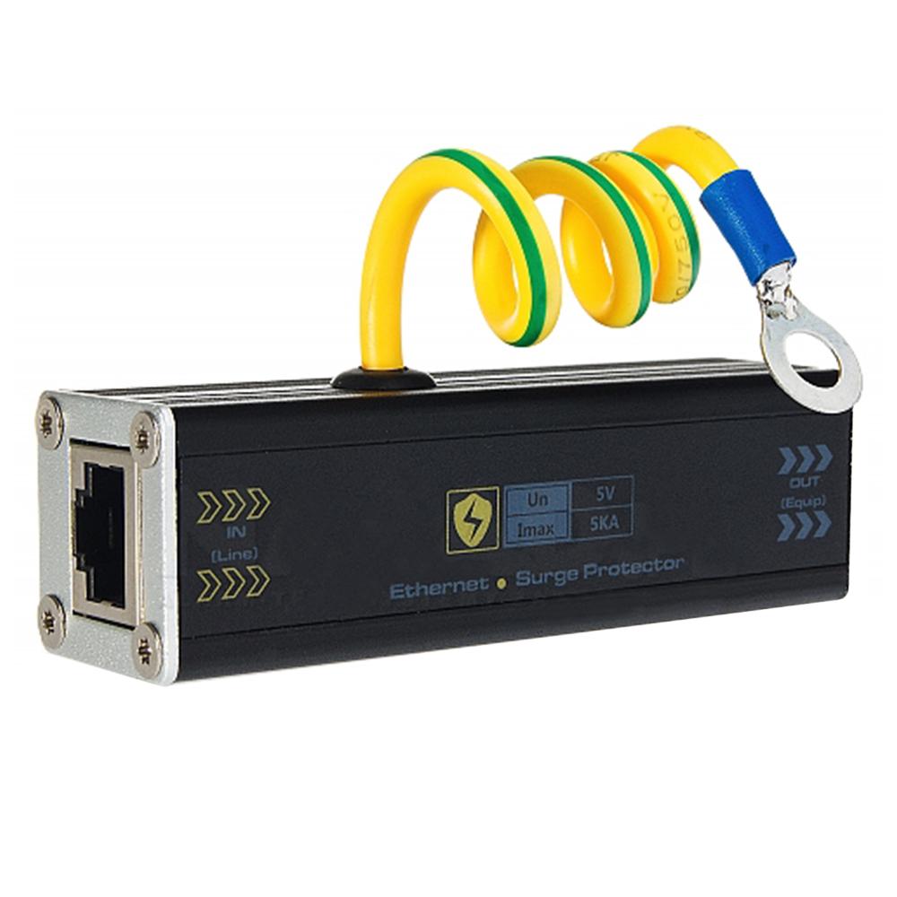 Protectie la supratensiuni USP201E pentru cablul de retea - date imagine spy-shop.ro 2021