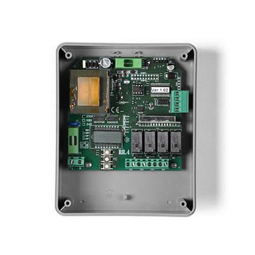 Receptor radio RISE RR4, 433.92 MHz, 21-28 Vac, 4 canale imagine spy-shop.ro 2021