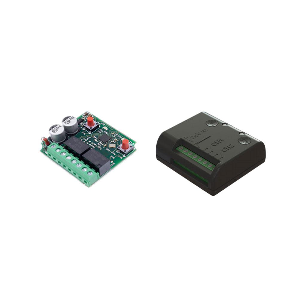 Receptor radio Roger Technology R93/RX2RC/U(I), 2 canale, 50 coduri, 433.92 MHz, cod fix imagine spy-shop.ro 2021