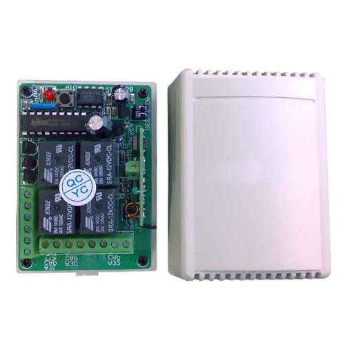 Receptor TELECOMANDA RCON-4PC 02, 433 MHz, 4 canale, 12 V imagine spy-shop.ro 2021