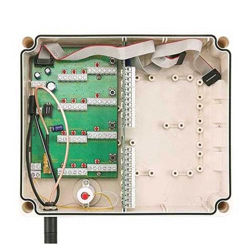Receptor universal wireless pentru detector wireless GJD GJD392 / D-TECT X, 868 MHz, 500 m, 4 canale