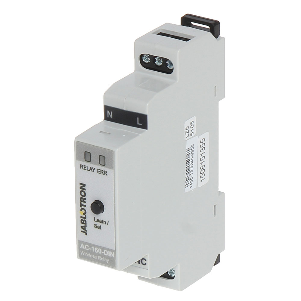 Releu wireless multifunctional JABLOTRON 100 AC-160-DIN, sina DIN, IP20 imagine spy-shop.ro 2021