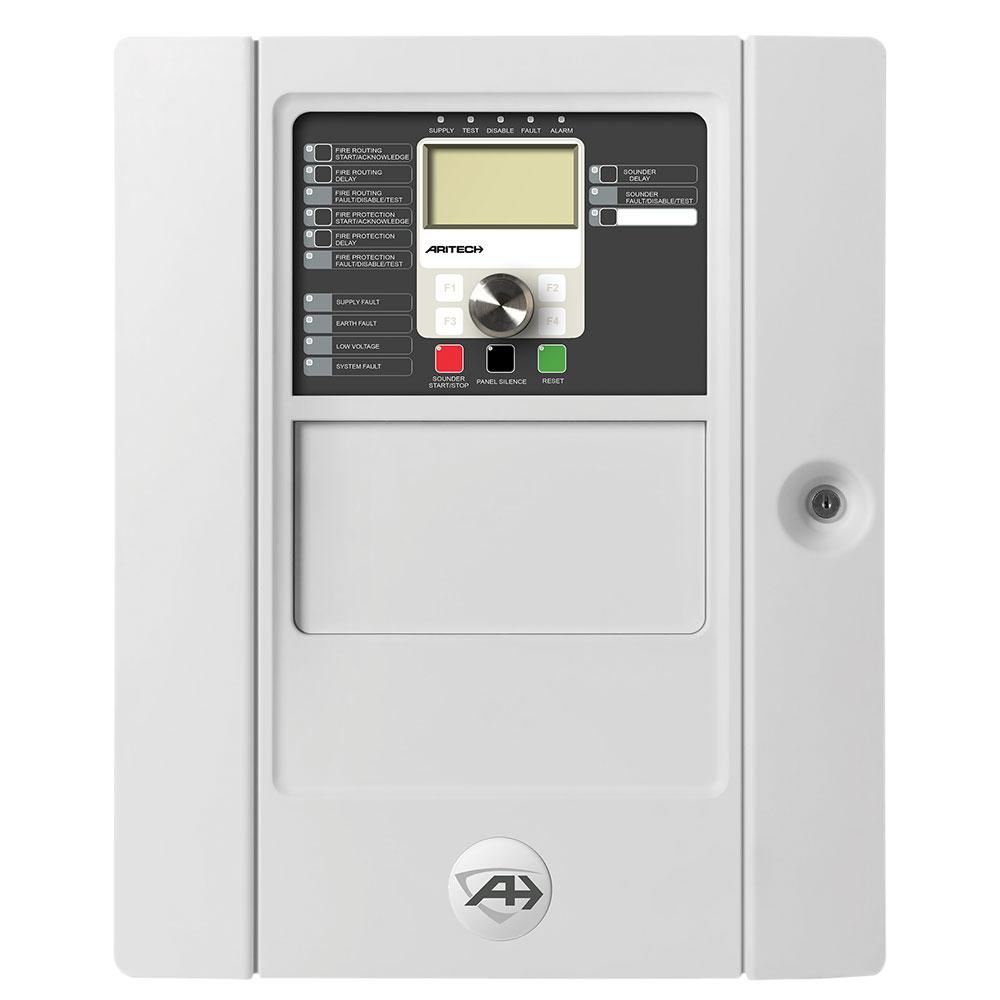 Repetor centrale de incendiu adresabile UTC Fire&Security 2X-FR-FB2-45, aparent, 230/110 VAC, 40 zone