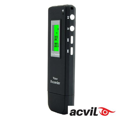 Imagine indisponibila pentru REPORTOFON DIGITAL ACVIL CU ACTIVARE VOCALA - INREGISTRARE TELEFONICA
