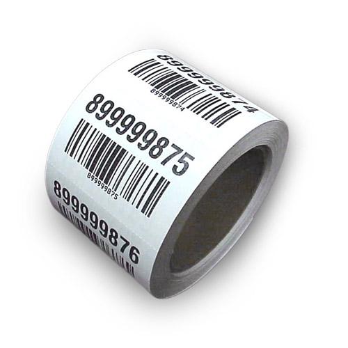 Rola cu 1000 de etichete adezive S13C imagine