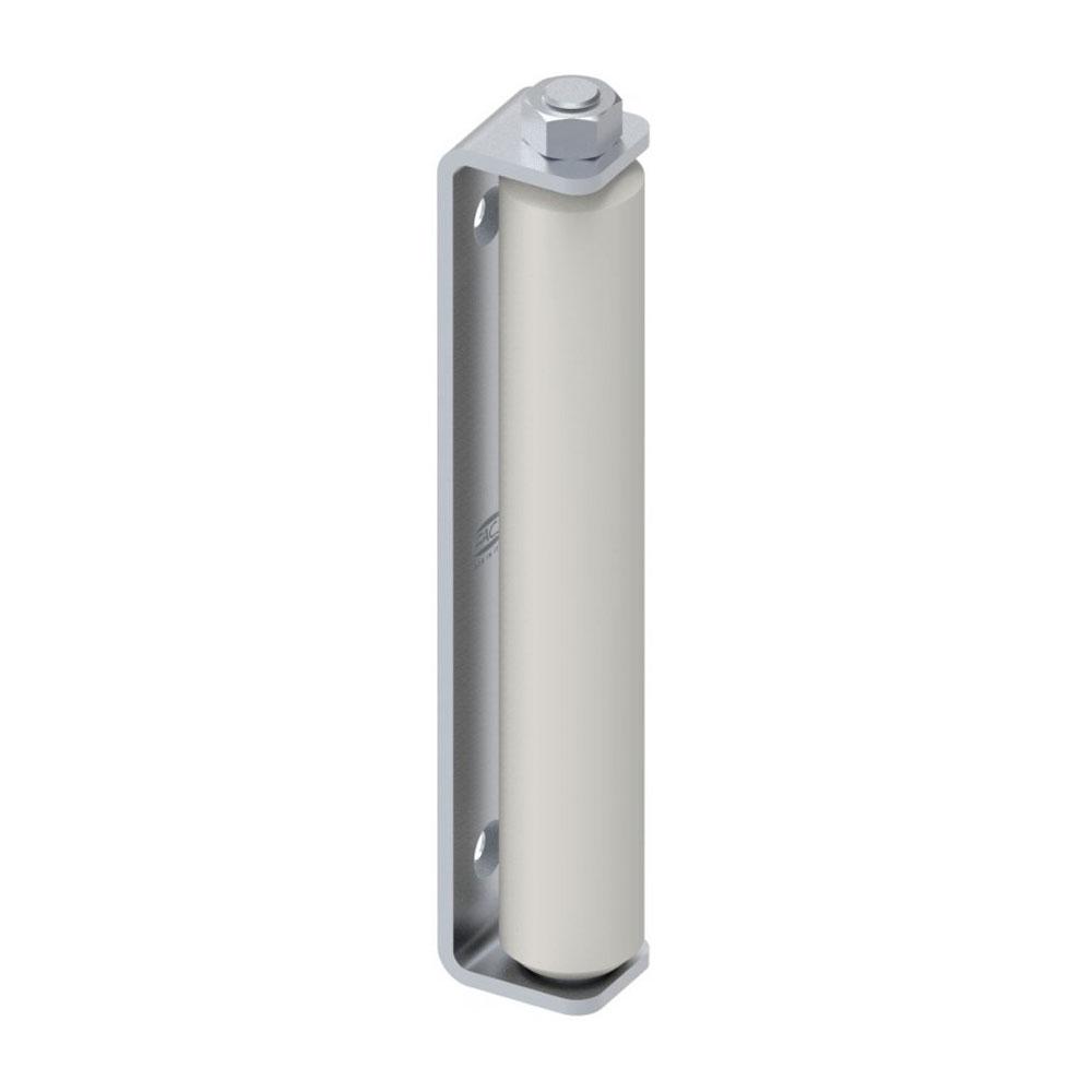 Rola lunga de ghidaj din teflon cu placa de fixare pentru porti culisante FAC COD 118.5