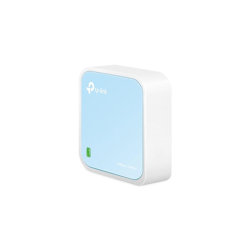 Router wireless portabil TP-Link TL-WR802N, 1 port WAN/LAN, Micro USB, 300 Mbps imagine spy-shop.ro 2021