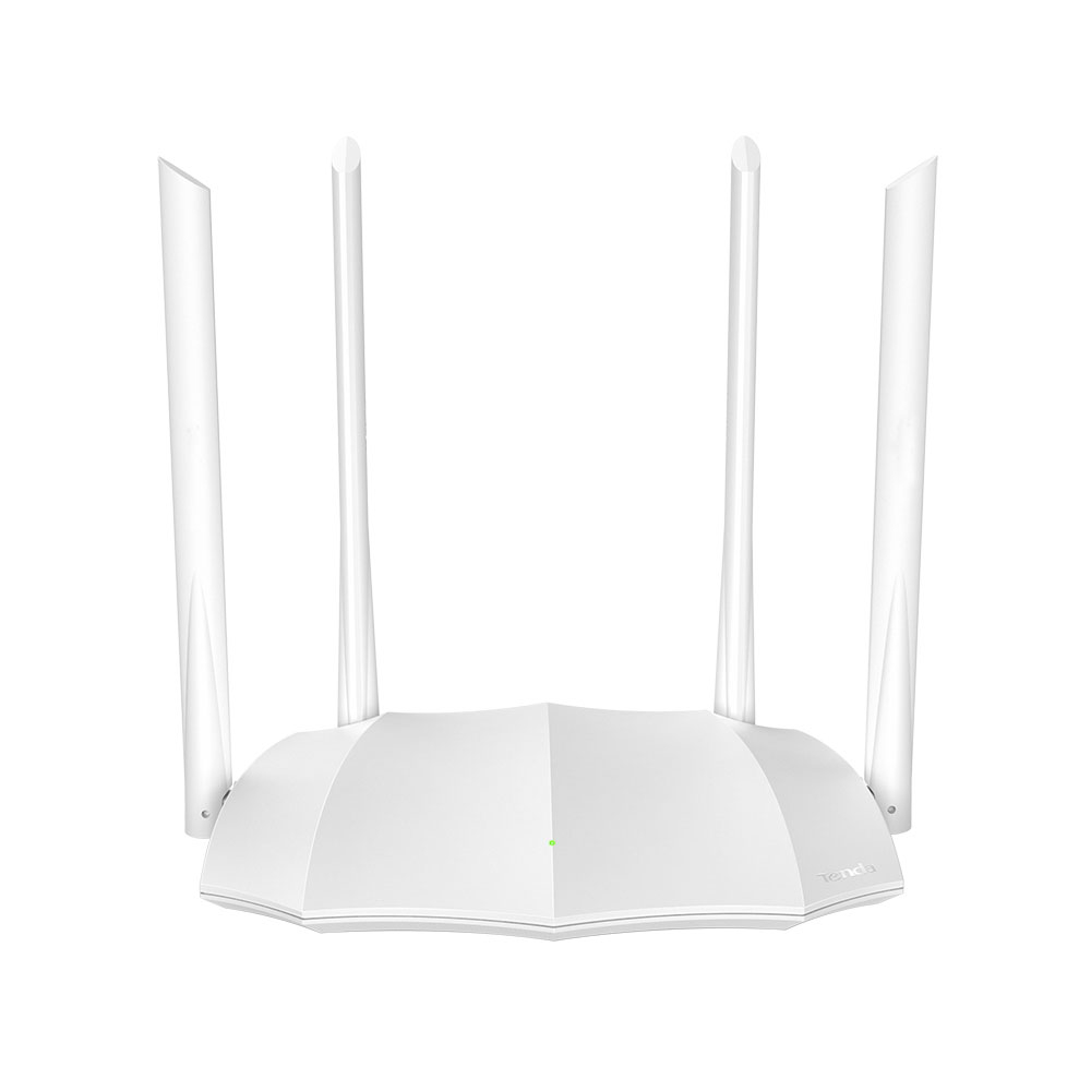 Router wireless Dual Band Tenda AC5 V3.0, 1 port WAN, 3 porturi LAN, 2.4/5.0 GHz, 5 dBi, MU-MIMO, 1200 Mbps