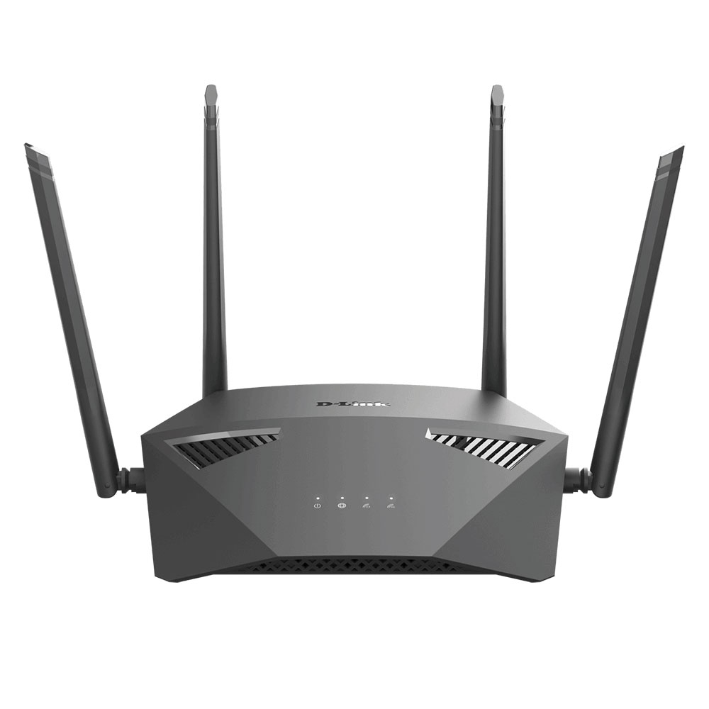 Router wireless Gigabit Dual Band D-Link DIR-1950, 5 porturi, 2.4/5.0 GHz, 1900 Mbps