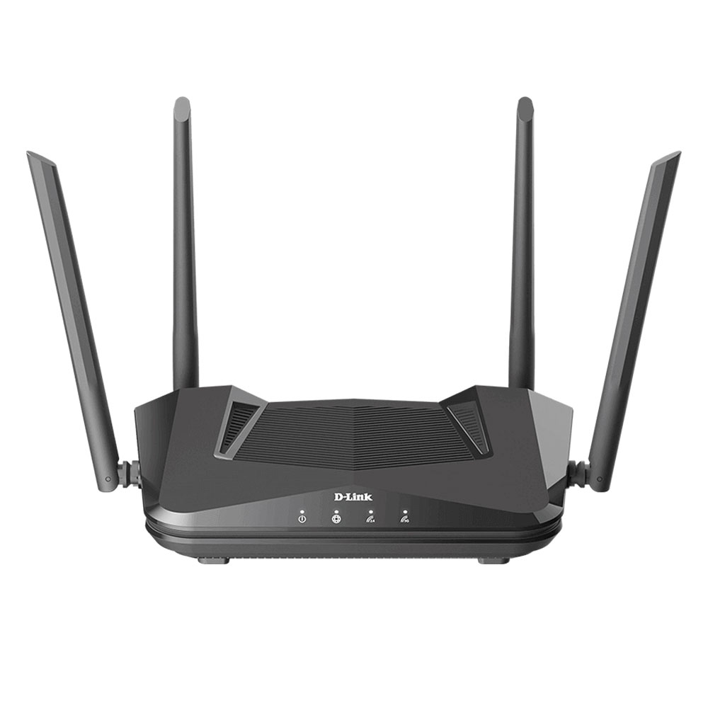 Router wireless Gigabit Dual Band D-Link EXO AX1500 DIR-X1560, 5 porturi, 2.4/5.0 GHz, MU-MIMO, 1500 Mbps