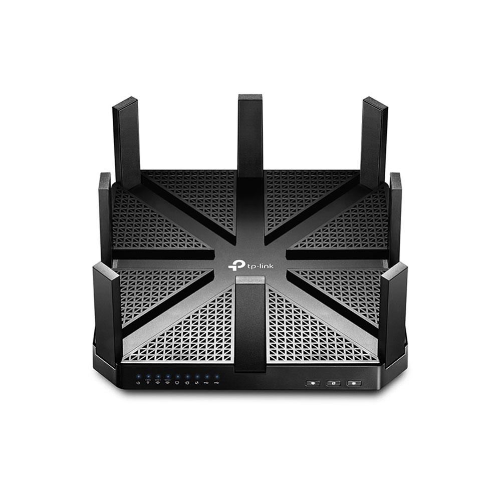 Router wireless Gigabit Tri Band TP-Link ARCHER C5400, 5 porturi, 5400 Mbps imagine spy-shop.ro 2021