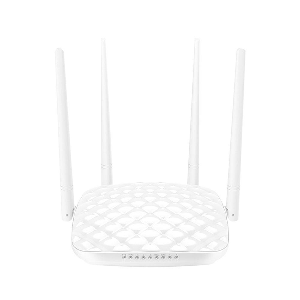 Router wireless Tenda FH456, 1 port WAN, 3 porturi LAN, 2.4 GHz, 5 dBi, 300 Mbps