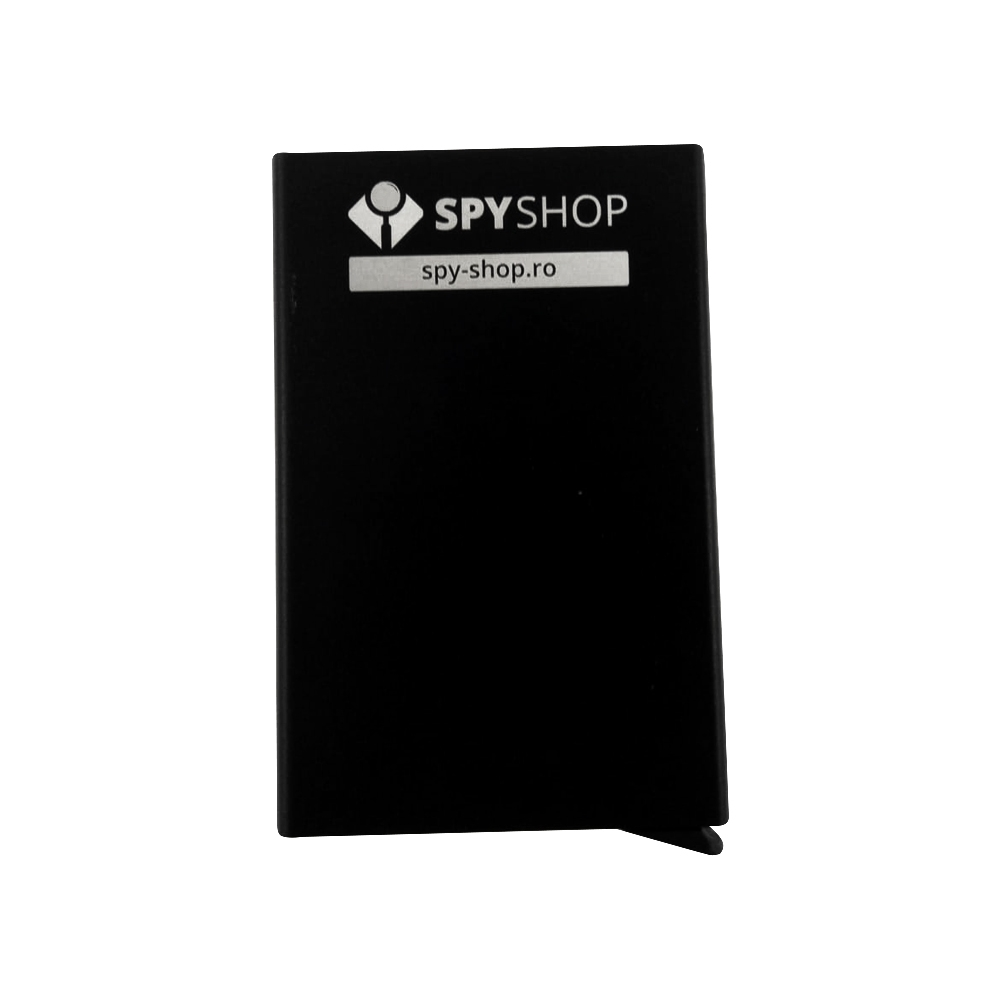 Port card bancar cu protectie antifurt RFID SC-1602 imagine spy-shop.ro 2021