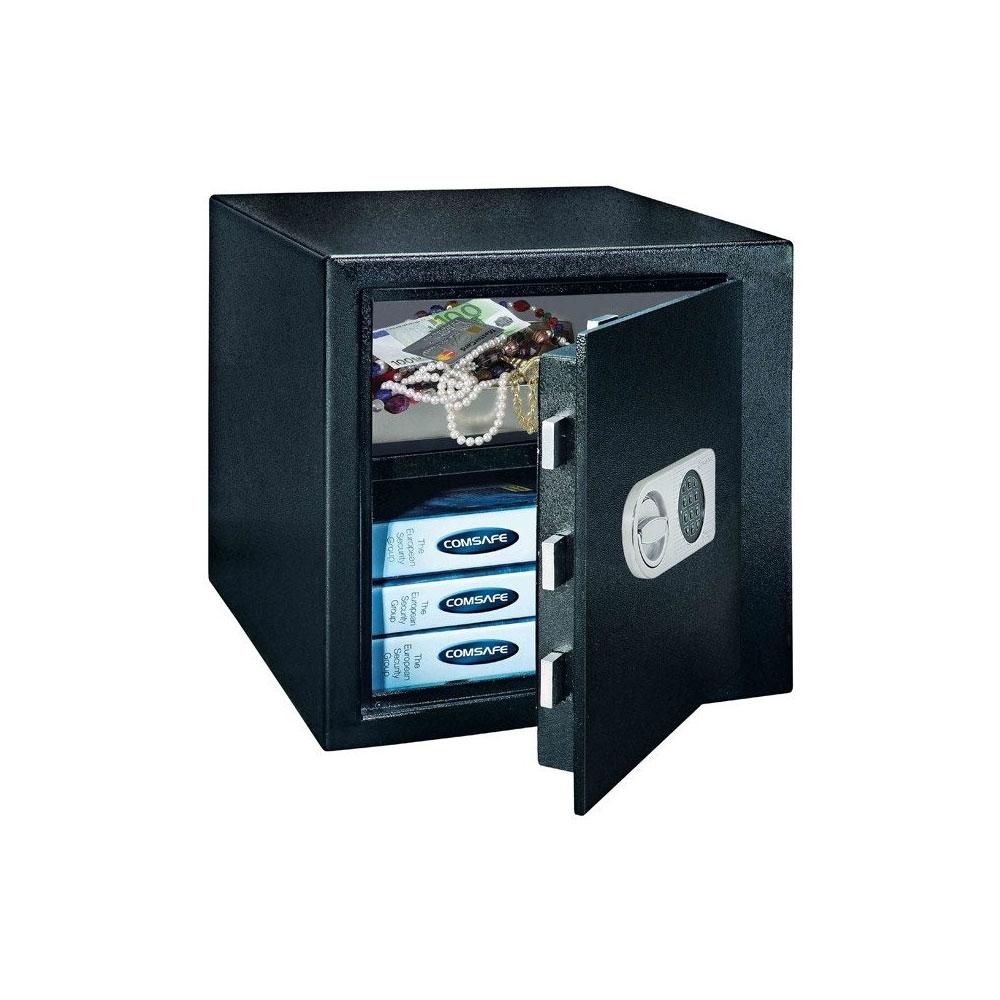 Seif antiefractie ROTTNER MONACO45 T04657, cifru electronic, 55 Kg imagine spy-shop.ro 2021