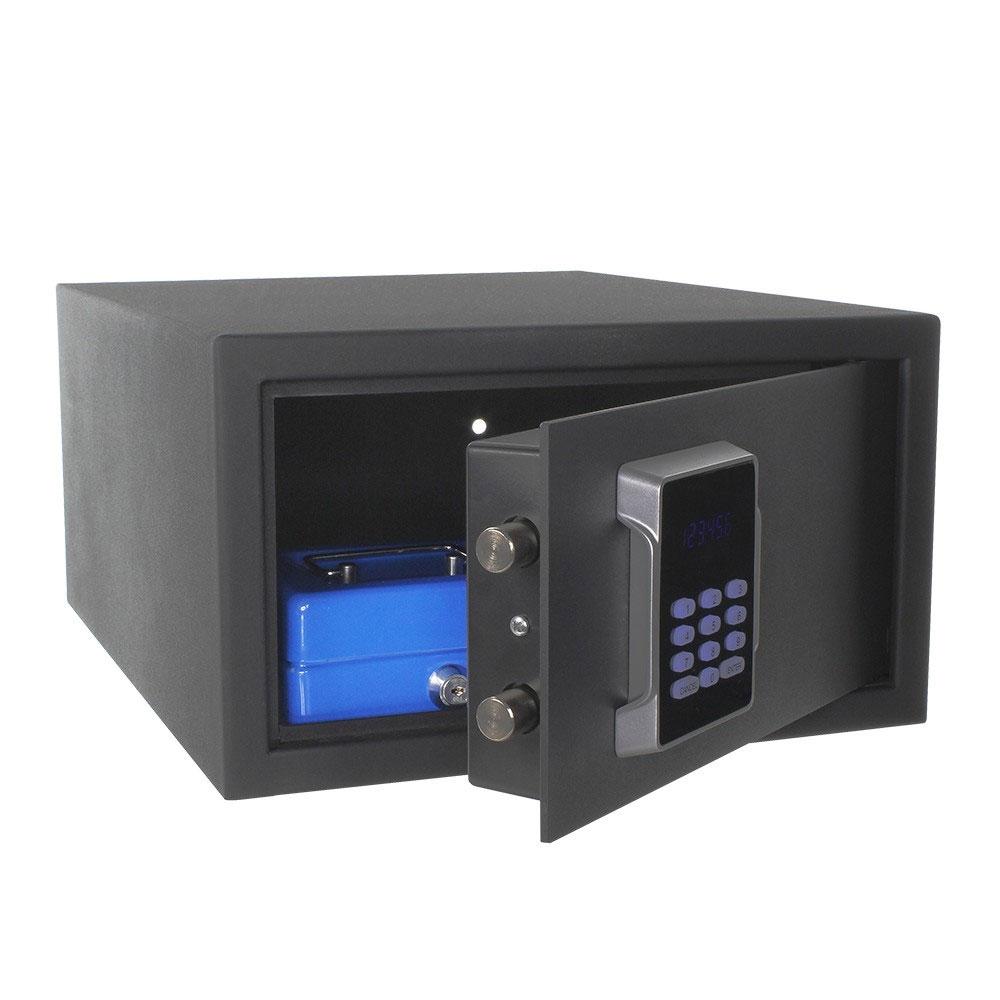 Seif antiefractie tip laptop cu cifru electronic Rottner Neptun T06114, 25 L, 11.5 Kg imagine spy-shop.ro 2021
