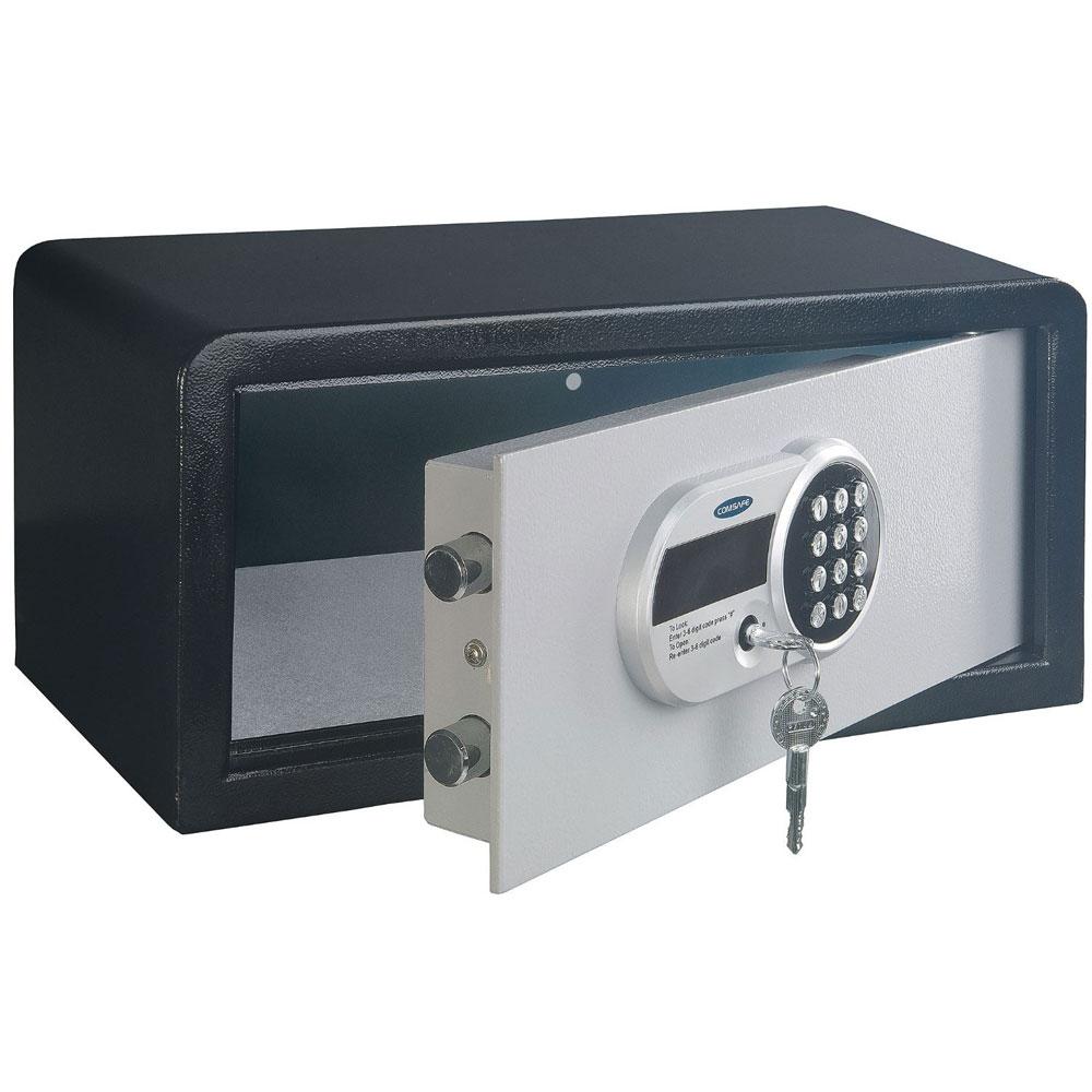 Seif antiefractie tip laptop cu cifru electronic Rottner Traveller T05812, 24 L, 13 Kg imagine spy-shop.ro 2021