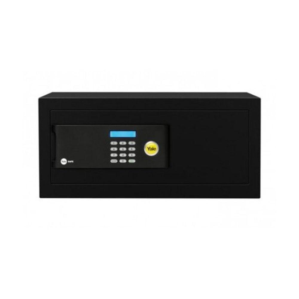 Seif cu cifru tip laptop Yale YLB/200/EB1, ecran, cod 3 - 8 cifre, negru, otel imagine spy-shop.ro 2021