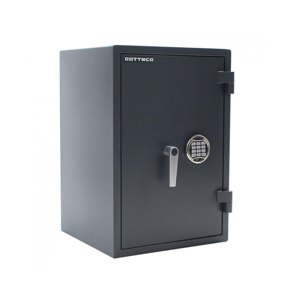 Seif cu perete dublu antiefractie Rottner Atlas 65 T06222, cod PIN, ignifug, inchidere electronica, deschidere de urgenta pe cheie imagine spy-shop.ro 2021