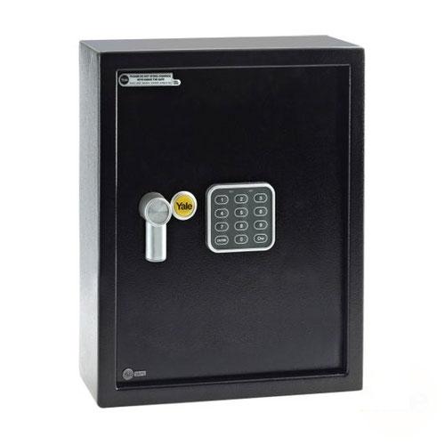 Seif electronic mediu pentru 48 chei YALE YKB/365/DB1, otel, negru imagine spy-shop.ro 2021