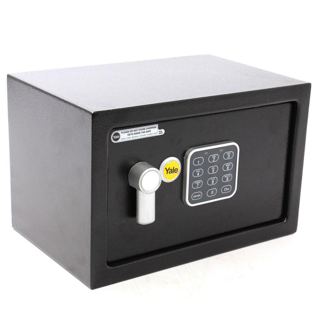 Seif standard compact YALE YSV/200/DB1, negru, otel imagine