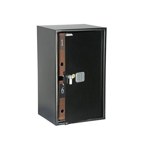Seif standard mare de birou YALE YSV/695/DB1, negru, otel imagine spy-shop.ro 2021