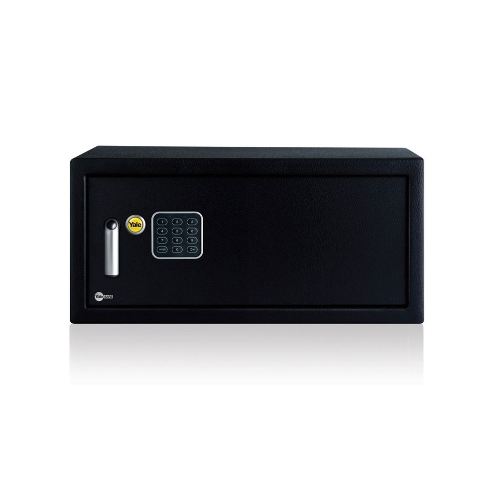 Seif standard tip laptop YALE YLV/200/DB1, negru, otel imagine spy-shop.ro 2021